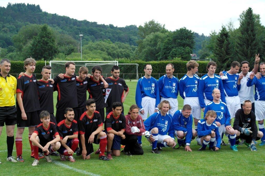 jubileumreis G-voetbalteam Olympia Boxmeer